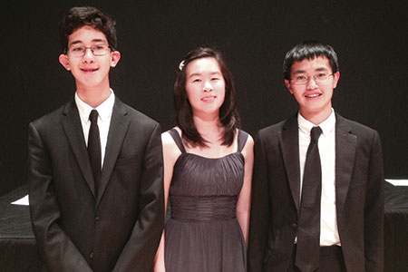OC Debussy Trio: First Place in the Ensemble Category of the American Fine Arts Festival