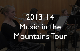 2013-14 Music in the Mountains Tour