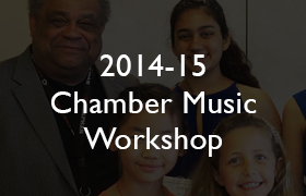 2014-15 Chamber Music Workshop
