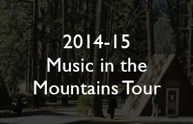 2014-15 Music in the Mountains Tour