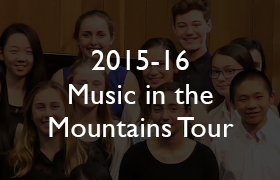 2015-16 Music in the Mountains Tour