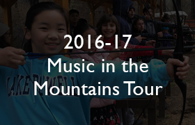 2016-17 Music in the Mountains Tour